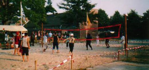 Beach Volleyball in de Zierikzeestraat