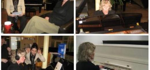 Vitaal Pendrecht koopt een piano voor het wijkorkest