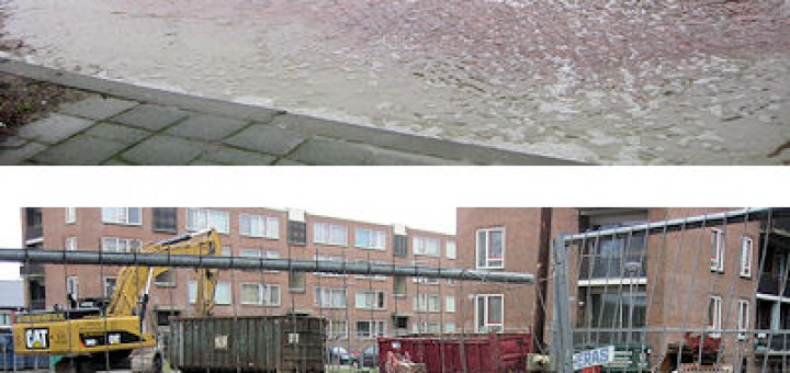 Waterballet in de Sliedrechtstraat