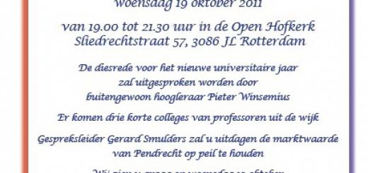 Bijzonder college van de Pendrecht Universiteit