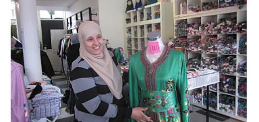 Jamila Oualghazi heeft grootse plannen  met boutique