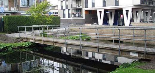 Pendrecht heeft een nieuwe brug