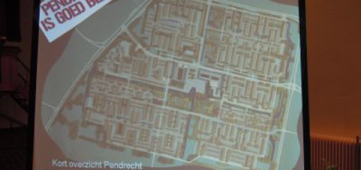 De kaart van Pendrecht