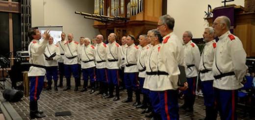 Oeral Kozakken in de Open Hofkerk