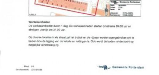 Baarlandhof zondag 7 april afgesloten