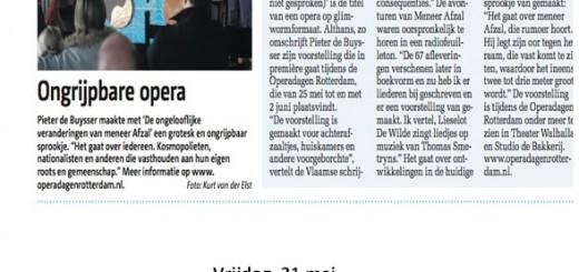 Mooi aanbod vanuit Operadagen en Pendrecht Theater