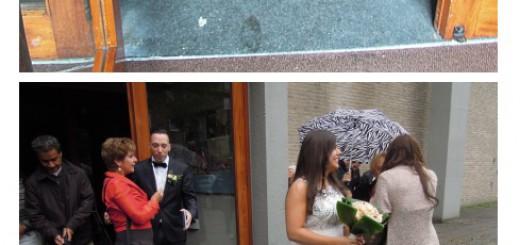 Huwelijks inzegening van Michel & Werde