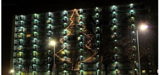 Dichtbij vindt grootste kerstboom ook mooi
