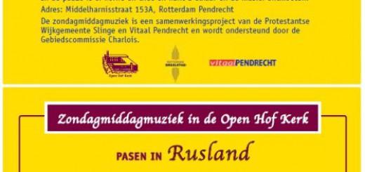 Oeral Kozakkenkoor met Paasconcert in Open Hof Kerk