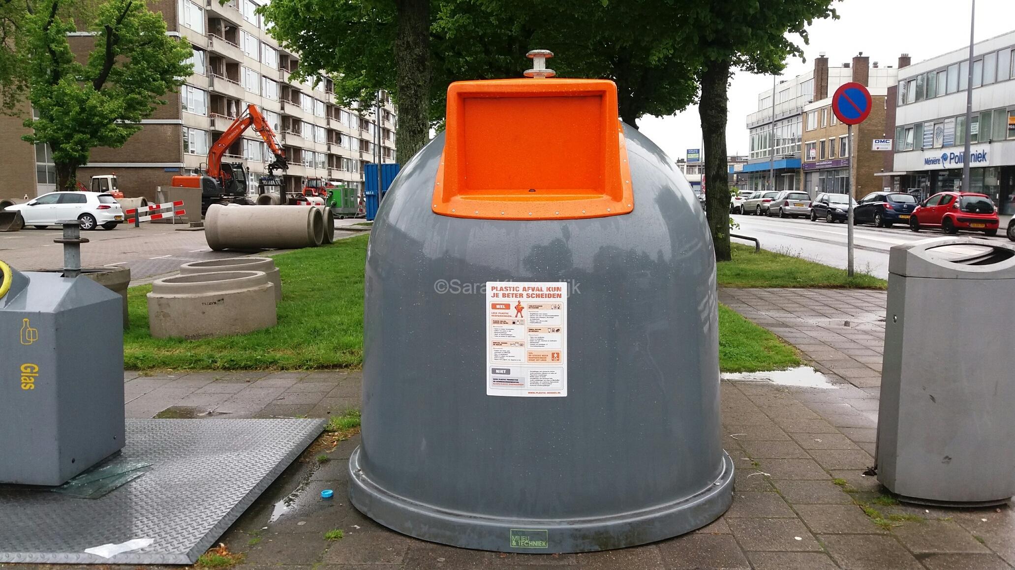 Plastic container rotterdam